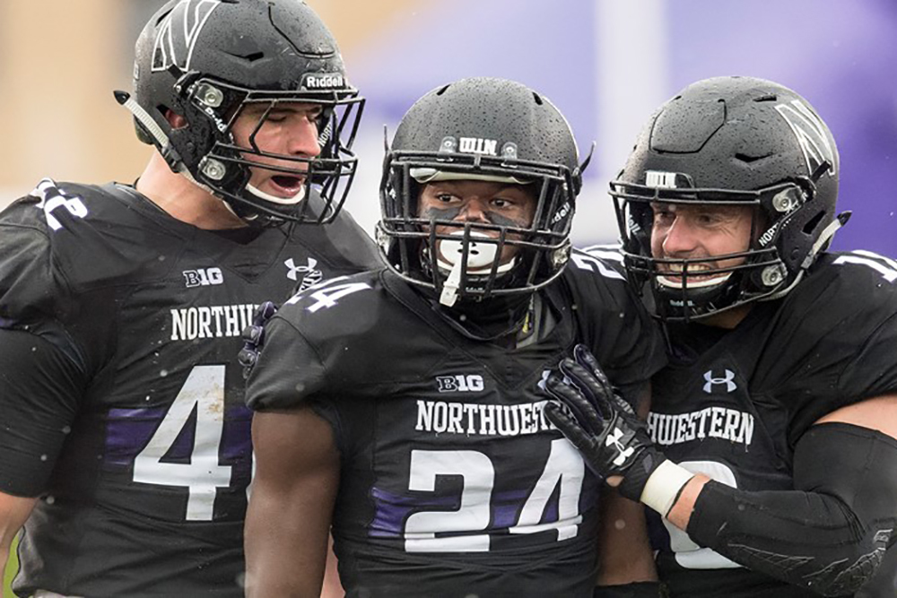 Northwestern finished the season in second place in the Big 10 West.