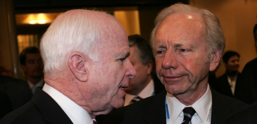 Se. John McCain (R-AZ) and former Sen. Joseph Lieberman (D-CT) are among those calling for a tougher stand toward Iran.