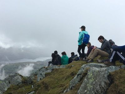 Walter Payton College Prep students traveled to Ireland and Scotland for a hiking tour. Their airfare cost $27,856.