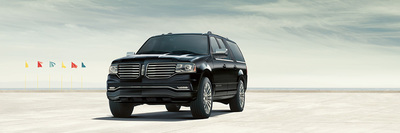 The 2015 Lincoln Navigator SUV comfortably seats eight people.
