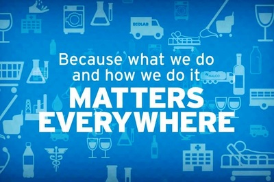 Ecolab offers technologies and services for clean water, safe food, plentiful energy and healthy environments.