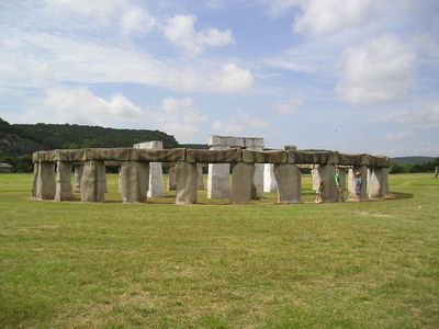 Kerrville even has its own version of Stonehenge.
