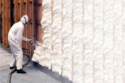 Spray foam is one of the newer types of insulation on the market.