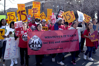 Workers from across the country have been pushing for a higher minimum wage.