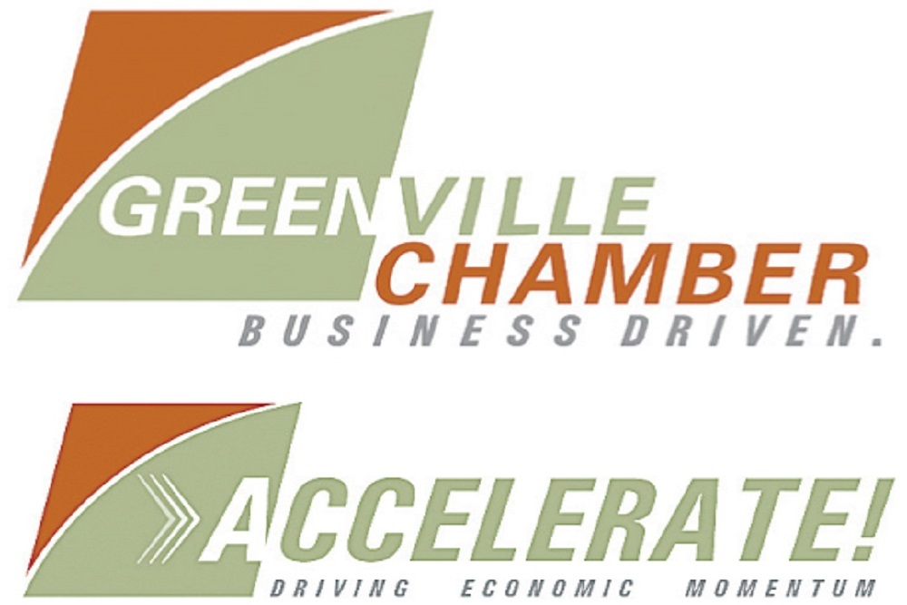 The Accelerate brochure promoted the relaunch of the chamber's Accelerate economic-development project.