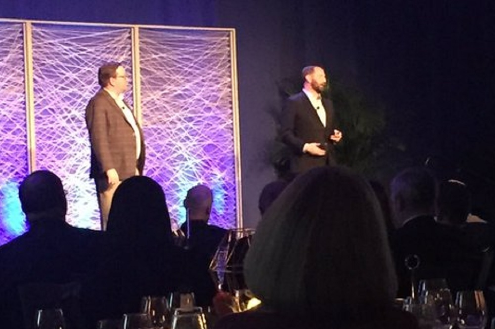 Chris Durlak and Rory Cooper from Purple Strategies spoke to the Charleston Metro Chamber of Commerce.