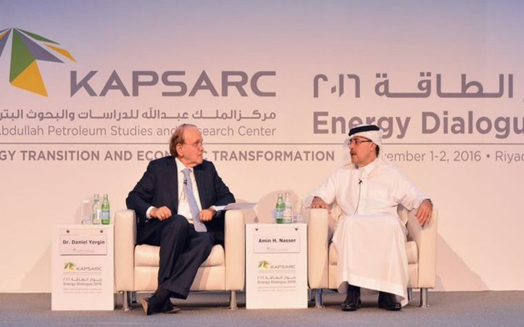 Saudi Aramco CEO discusses environmental sustainability at energy conference