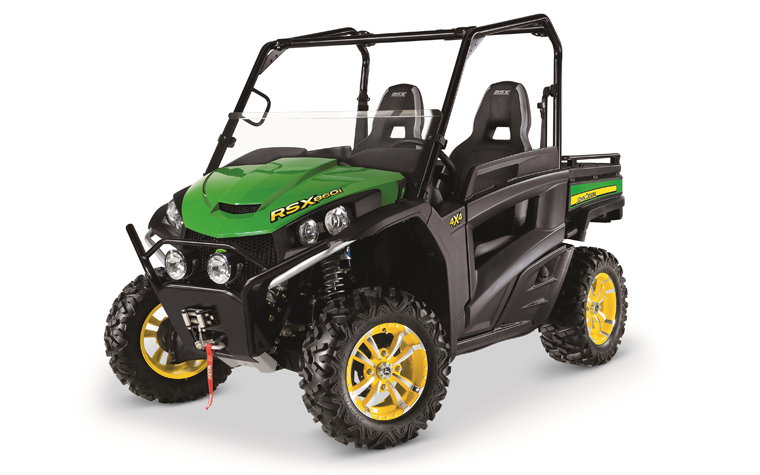 The Gator line from John Deere recieved an updated model, the RSC860i.