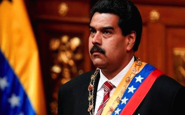 Venezuela´s President Nicolas Maduro