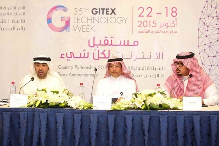 GITEX Technology Week 2015, the largest technology event in the Middle East, Africa, and South Asia, announced that the Kingdom of Saudi Arabia will serve as the official country partner.