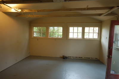 An unused attached garage can be a quick source of new living space inside the home.