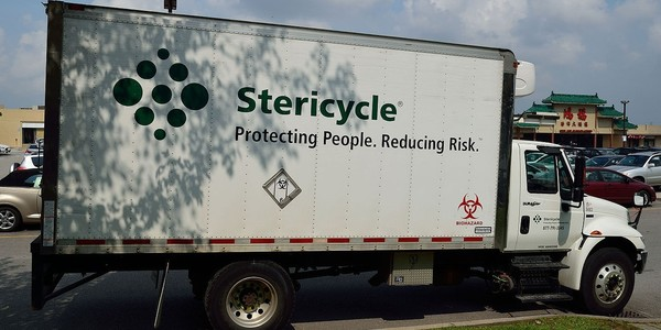 Large stericycletruck