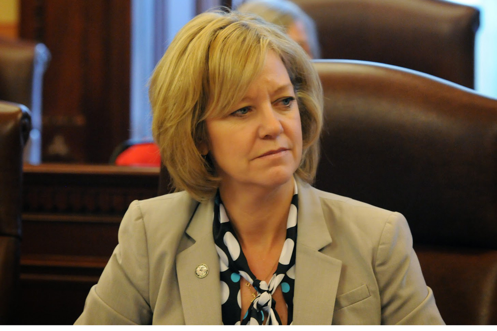 State Rep. Jeanne Ives has thrown her support behind Mark Shaw for Illinois' GOP chair.