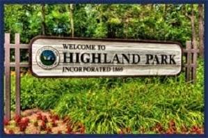 Medium highlandparkwelcomesign