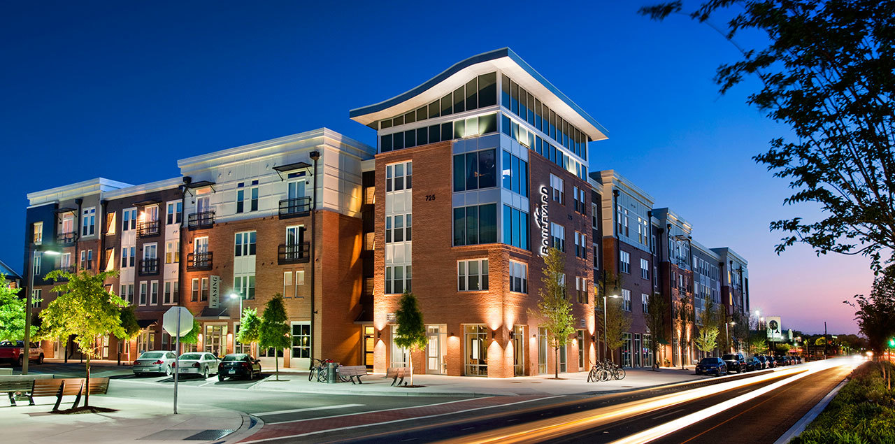 Multifamily housing developments with retail reduce for Multi family living