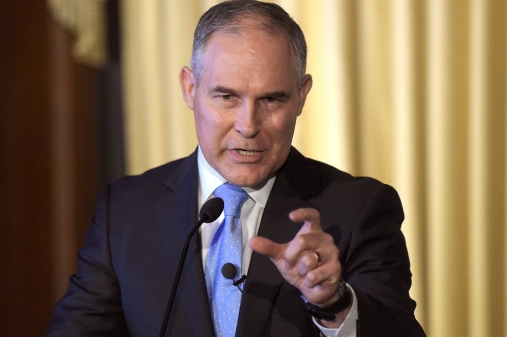 EPA Administrator Scott Pruitt was previously party to lawsuits challenging the