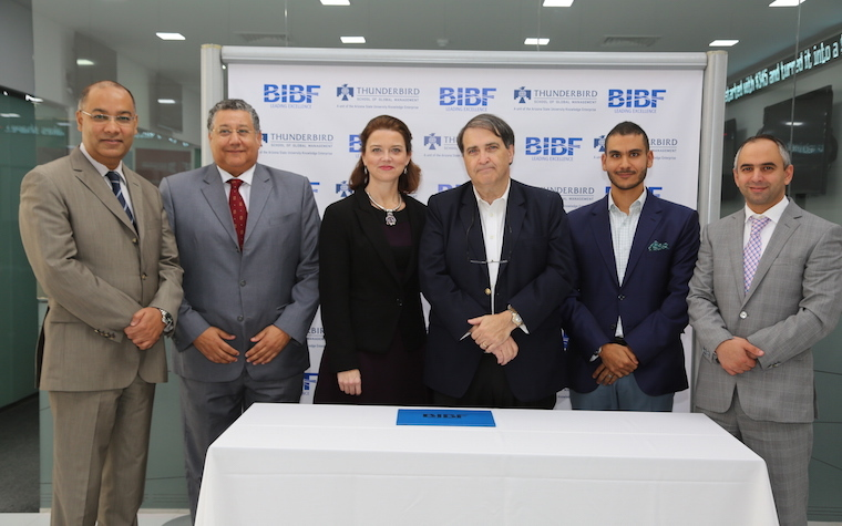 Bahrain Institute of Banking and Finance signs MoU with Thunderbird School of Global Management