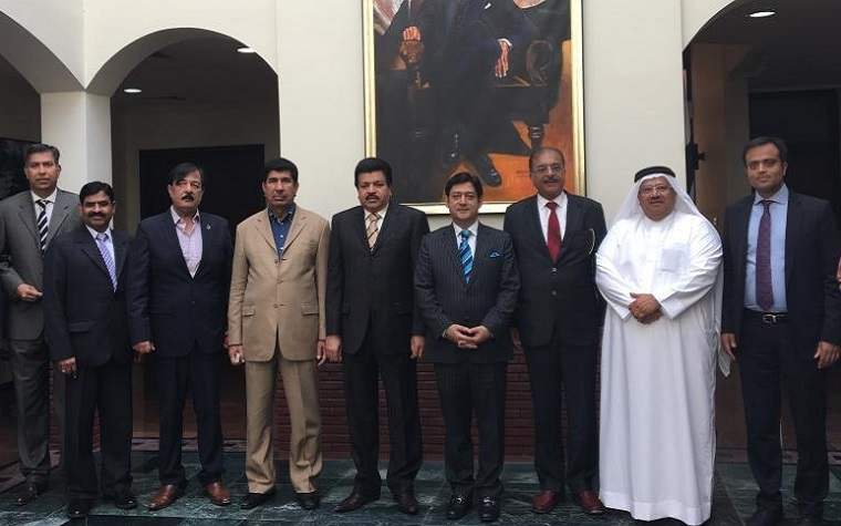Bahrain Chamber of Commerce and Industry representatives recently met with Pakistan's ambassador.