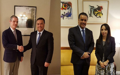 French Foreign Ministry meets with minister's assistant for foreign affairs