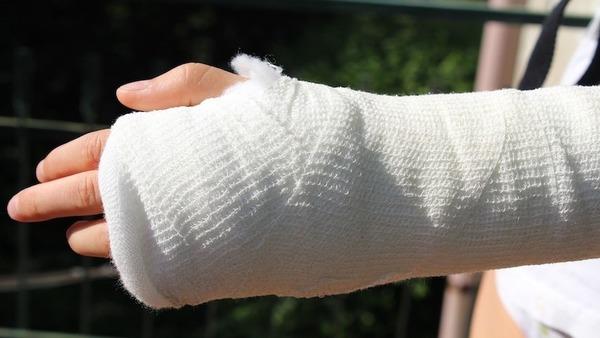 Large injuryarmbroken