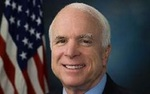 Sen. John McCain (R-AZ) and other senators wrote the Department of Defense on behalf of the University of Phoenix.
