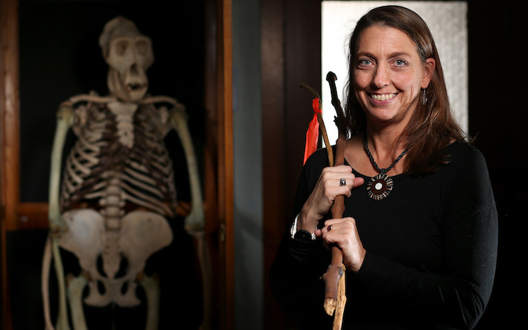 Iowa State University anthropology professor Jill Pruetz is an avid researcher of the lives of chimps.