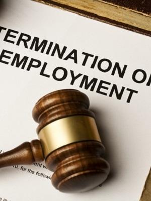 Large employeetermination