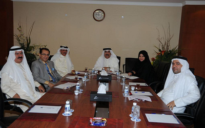 The Bahrain Contractors Society and BCCI recently met to discuss possibility of sending a delegation to Saudi Arabia.
