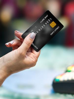 Large creditcard
