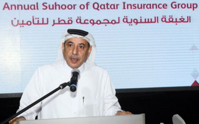 Qatar Insurance staff enjoys Suhoor gathering