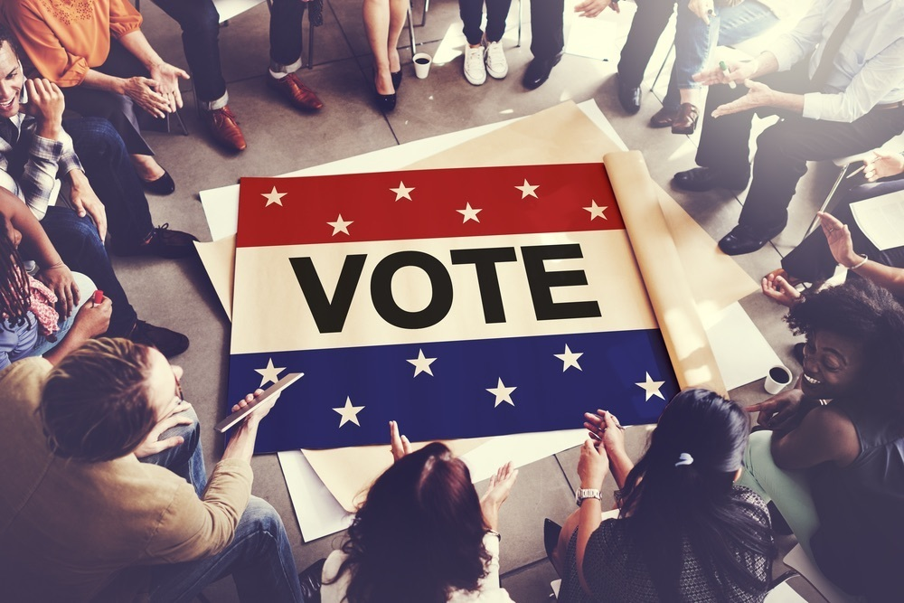 Vote group shot