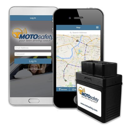 MOTOsafety Teen Driving Coach and Vehicle Monitoring System