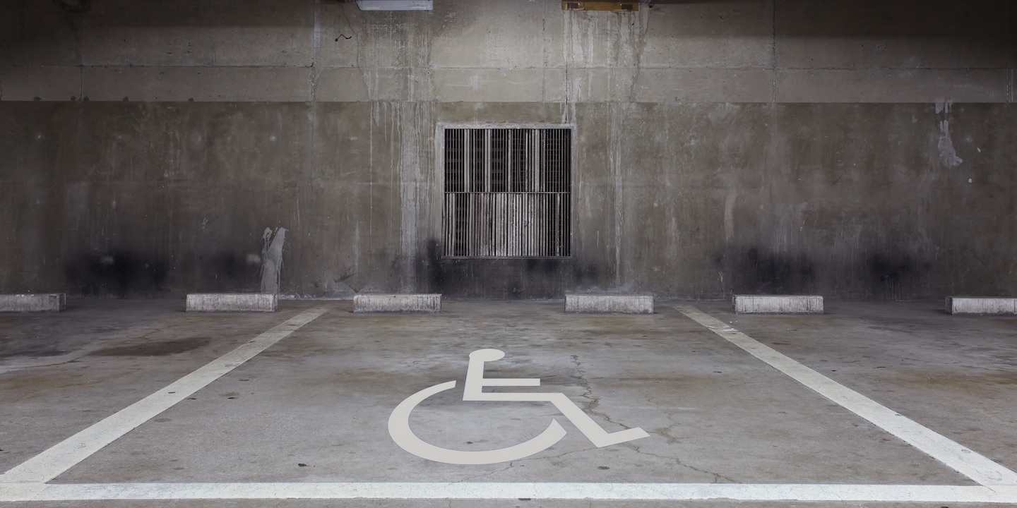 Handicapped sign 06