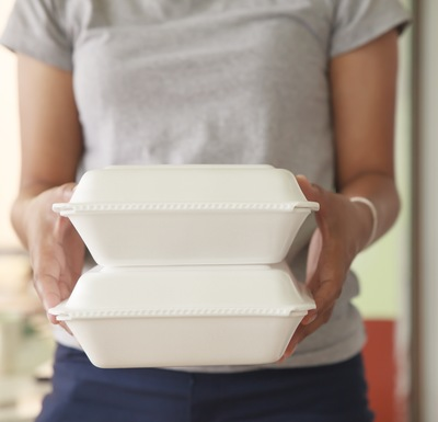 If you can't find a place to reuse polystyrene in your home, take it to a recycling plant.