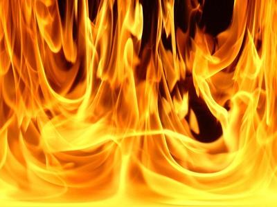 Medium fire