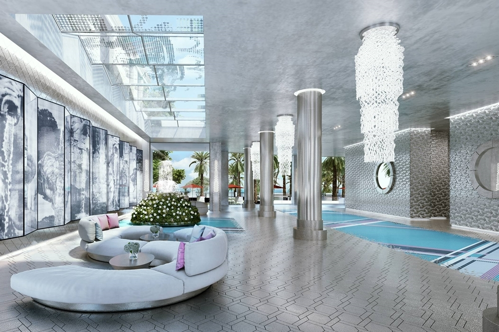 New residential development boasts lobby designed by Lagerfeld