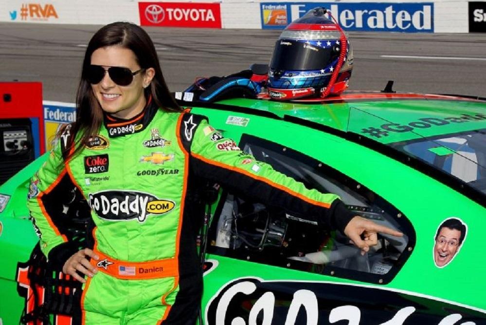 Danica Patrick will sport Advance America's logo on her racing helmet throughout the 2017 NASCAR season.