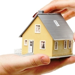Medium house in hands