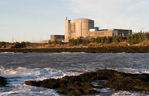 The Point Lepreau Nuclear Generating Station.