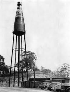 The Collinsville Historic Preservation Commission recently gathered to discuss the sale of a gigantic catsup bottle.