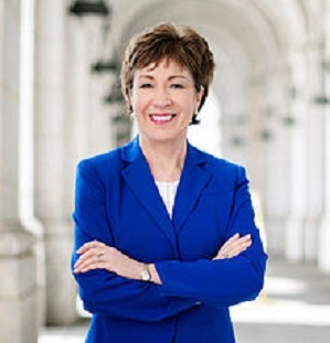 Sen. Susan Collins (R-ME) is promoting biomass energy as a sustainable, responsible, renewable and economically significant fuel source.