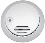 Ionization smoke detectors contain americium, a radioactive metal element.