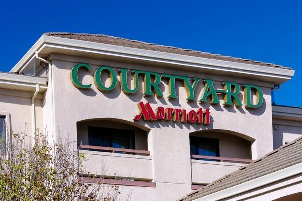 Large courtyardmarriott