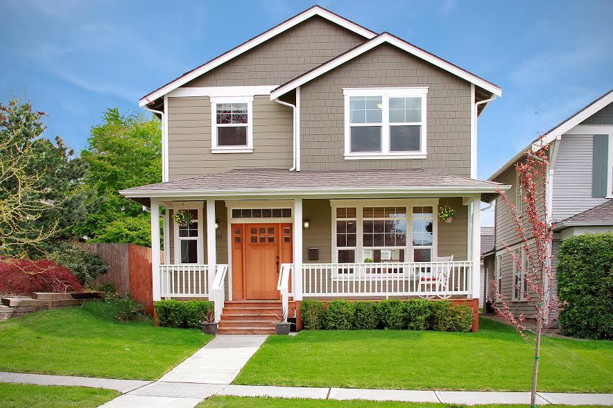 This gorgeous Craftsman home boasts a fantastic location in a historic neighborhood.