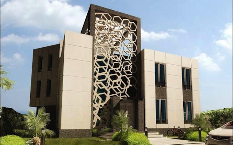 Designs for one of Mövenpick Hotel Heraa Jeddah's stand-alone villas