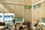 Top down shades provide wider options for controlling ambient light and privacy.