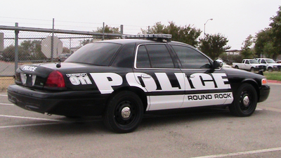 Round Rock police welcome car enthusiasts to the department's monthly car show.