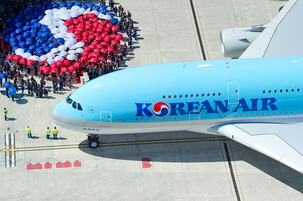 Korean Air is scheduled to introduce five 787-9 Dreamliners to its fleet this year.