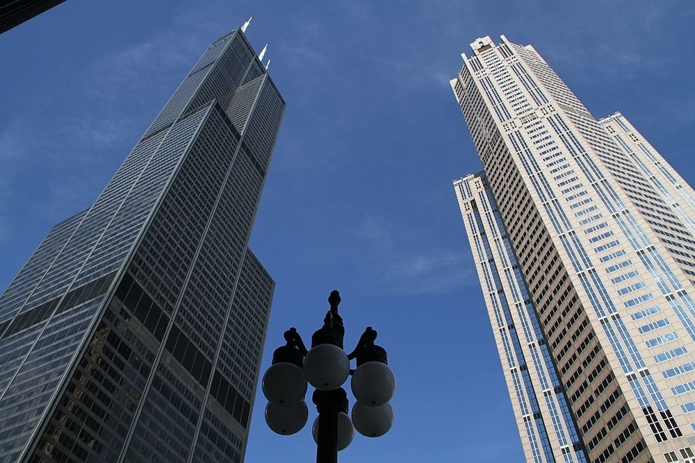 Willis Tower paid the highest commercial property taxes in Chicago last year, at $26.5 million.