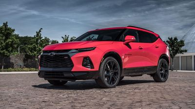 Inside the 2019 Chevrolet Blazer is five-passenger seating with an adjustable rear seat.